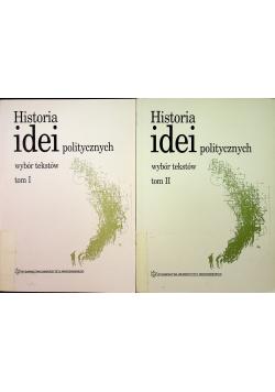 Historia idei politycznych wybór tekstów Tom 1 i 2