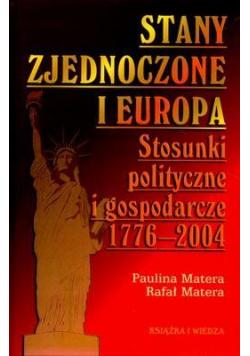 Stany Zjednoczone i Europa. Stosunki polityczne i