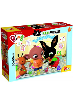 Puzzle Maxi Bing Atak sztuki! 24