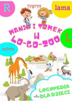 Mania i Tomek w logozoo. Logopedia dla dzieci