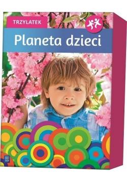 Planeta dzieci Trzylatek BOX WSiP