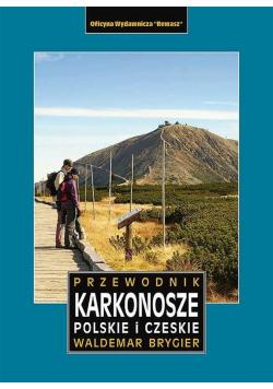 Karkonosze polskie i czeskie przewodnik w.2