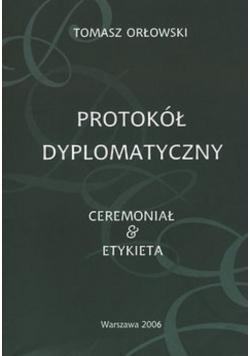 Protokół Dyplomatyczny Ceremoniał Etykieta