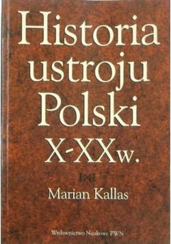 Historia ustroju Polski X  XX w