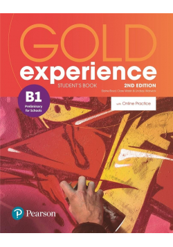 Gold Experience 2ed B1 SB + online PEARSON