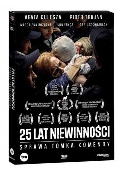 25 lat niewinności. Sprawa Tomka Komendy DVD