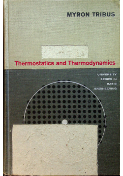 Thermostatics and therodynamics