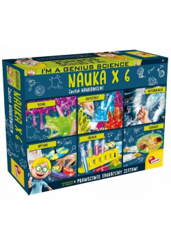 I'M A Genius Science Nauka x 6