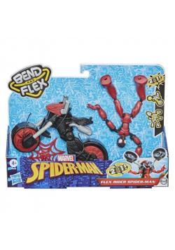 Spider-Man Bend and Flex figurka 15cm + motocykl