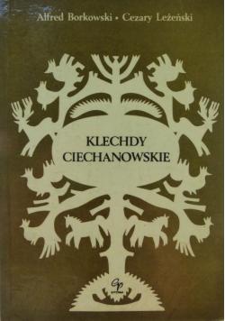 Klechdy ciechanowskie autograf Leżeński