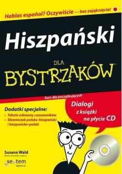 Hiszpański dla bystrzaków plus CD