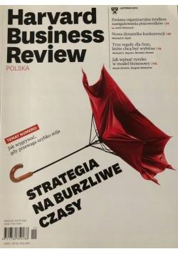 Harvard Business Review Polska Nr 11 Strategia na burzliwe czasy
