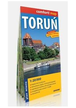 Comfort!map Toruń 1:20 000 plan miasta w.2019