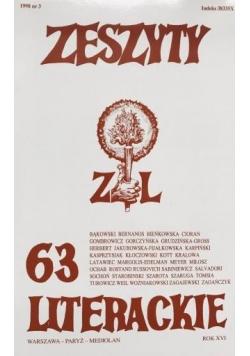 Zeszyty literackie 63 3/1998