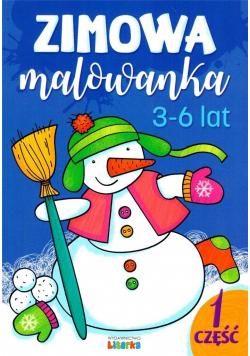 Zimowa malowanka. 3-6 lat cz.1
