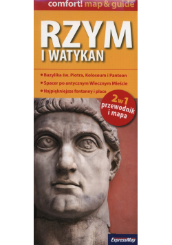 Rzym i Watykan 2w1 przewodnik i mapa