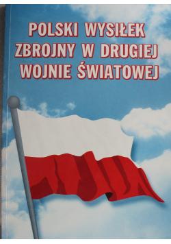 Polski wysiłek zbrojny w drugiej wojnie światowej