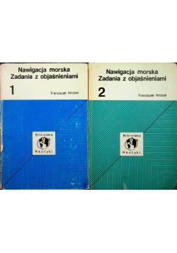 Nawigacja morska Zadania z objaśnieniami 2 tomy