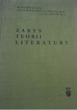 Zarys teorii literatury