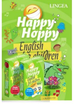 Happy Hoppy Pakiet edukacyjny dla dzieci do nauki języka angielskiego