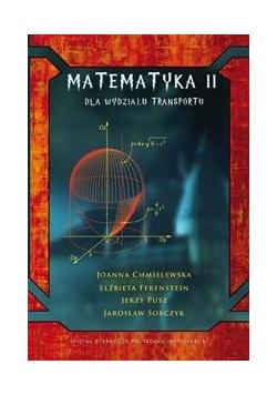 Matematyka II dla Wydziału Transportu