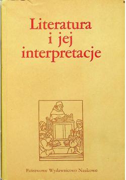 Literatura i jej interpretacje