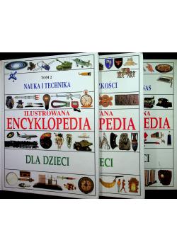 Nauka i technika Ilustrowana encyklopedia dla dzieci  3 Tomy