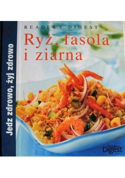 Ryż fasola i ziarna