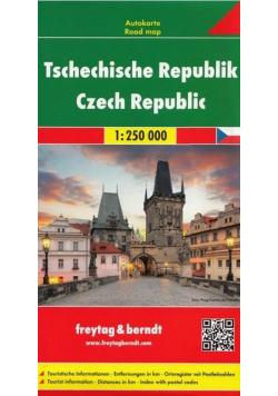 Mapa samochodowa - Czechy 1:250 000