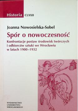 Spór o nowoczesność Konfrontacje postaw środowisk twórczych i odbiorców sztuki we Wrocławiu w latach 1900 - 1932