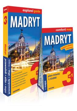 Madryt 3w1 przewodnik + atlas + mapa