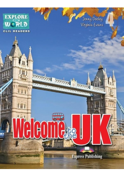 Welcome to the UK. Reader Level 4 + DigiBook