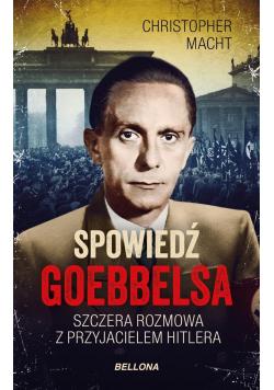 Spowiedź Goebbelsa