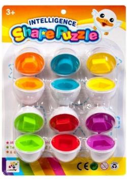 Zabawka edukacyjna puzzle jajo