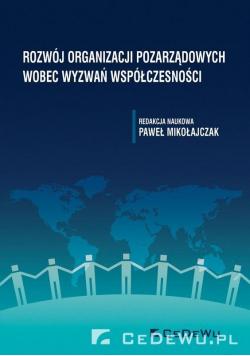 Rozwój organizacji pozarządowych wobec wyzwań..