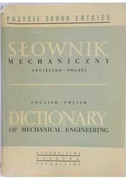 Słownik mechaniczny angielsko-polski