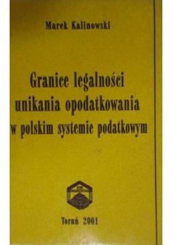 Granice legalności unikania opodatkowania w polskim systemie podatkowym
