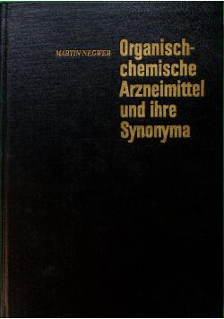 Organisch Chemische Arzneimittl und Ihre Synonyma Band II