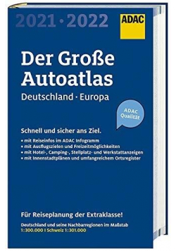 Autoatlas 2021/2022 Niemcy i Europa