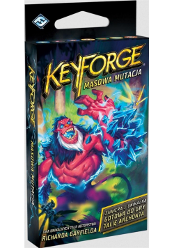 KeyForge: Masowa mutacja - Talia Archonta REBEL