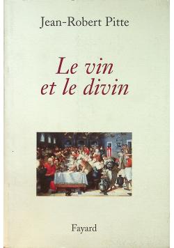 Le vin et le divin