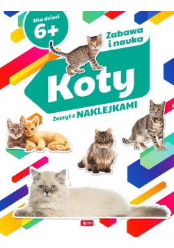 Koty. Zeszyt z naklejkami