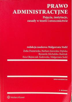 Prawo administracyjne Pojęcia instytucje zasady w teorii i orzecznictwie Wydanie 6