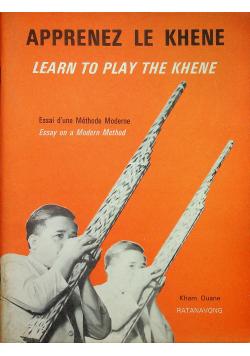 Apprenez Le Khene Learn to Play the Khene