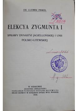 Elekcya Zygmunta I  1910r