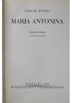 Marja Antonina, 1939 r.