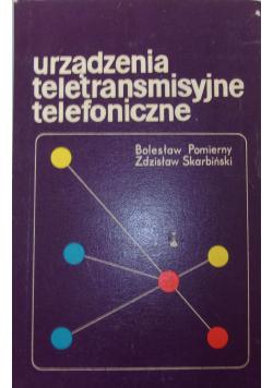 Urządzenia teletransmisyjne telefoniczne