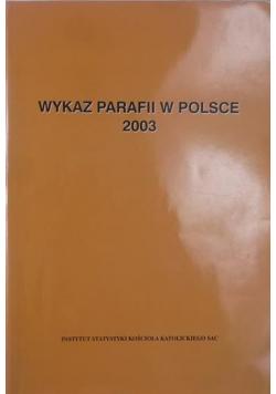 Wykaz parafii w Polsce 2003