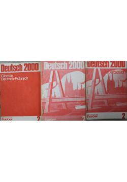 Deutsch 2000 zestaw 3 ksiażek