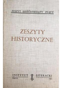 Zeszyty Historyczne Zeszyt siedemdziesiąty piąty
